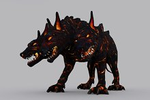 CERBERUS fbx only by  in Fantasy