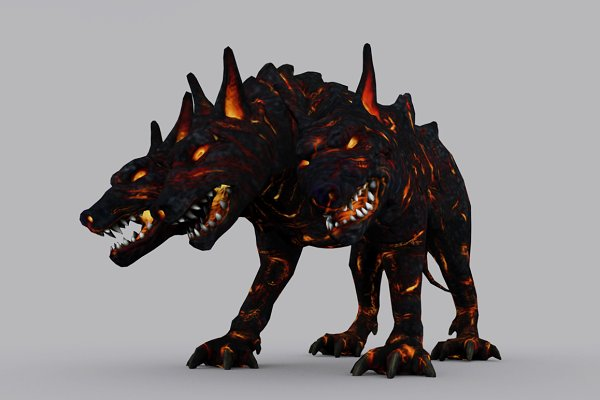 3D Characters: PROTOFACTOR  - CERBERUS fbx only