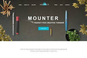 Mounter – Corporate WordPress Theme