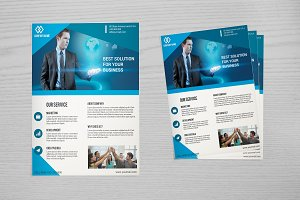 Corporate Flyer Template -V641