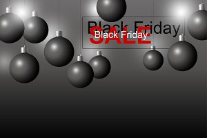 Vector black friday sale design