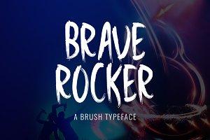 Brave Rocker Typeface