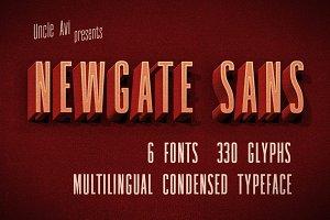 Newgate Sans - Retro Font