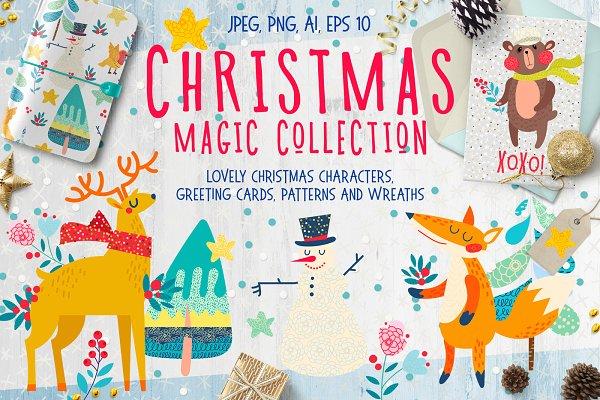 Christmas magic collection
