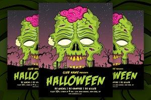 Vintage Halloween Flyer / Poster