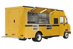 Food truck mobile cafe