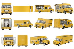 Food truck eatery set