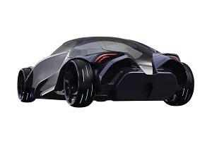 Car concept futuristic