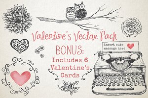 Valentine's Vector Pack