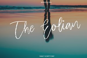 The Eolian | Fancy Script