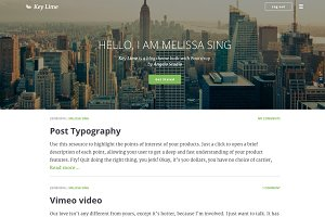 KeyLime WP - Wordpress Blog Theme