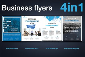 Multipurpose Business Flyer Pack v.2