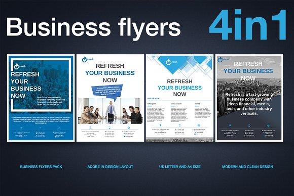 Multipurpose Business Flyer Pack v.2
