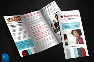 The Salesman Brochure Template