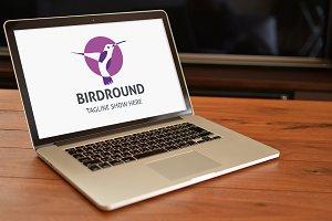 Bird Round Logo