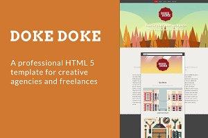 Doke Doke - HTML 5 Template