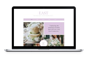 EAST: Premium Wix Template