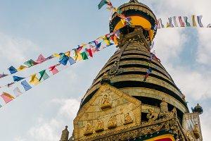 Buddhist stupa Swayambhunath