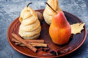Unusual autumn dessert