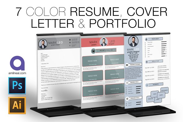 Cover Letter Templates: AN Productions - Resume & Cover Letter Template