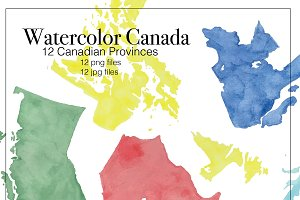 Watercolor Canada