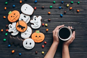 Preparation for Halloween
