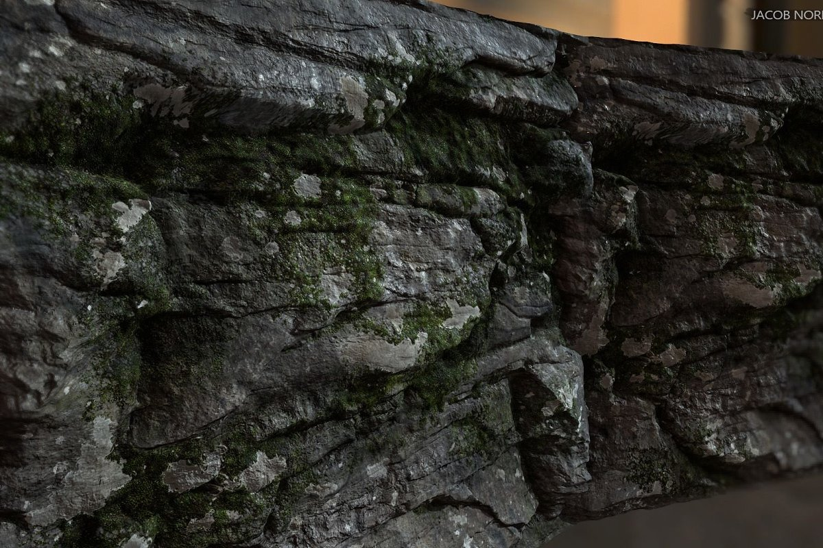 Textures - Rock with Moss