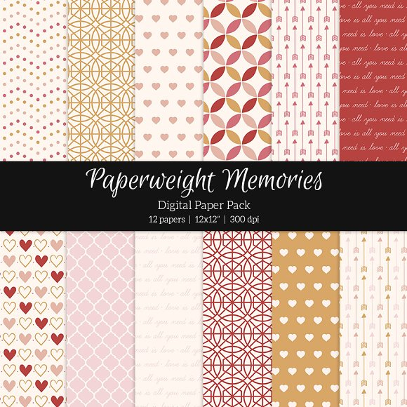 Patterned Paper - Stay with me