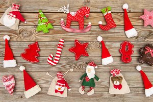 Christmas decoration toys ornaments