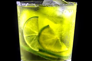 Green Refreshing Cocktail