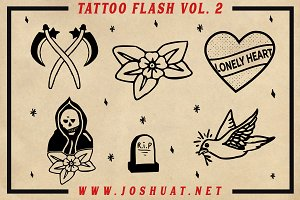 TATTOO FLASH VOL 2