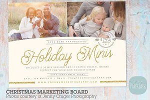 IC026 Christmas Marketing Board