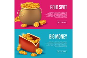 Gold spot and big money posters