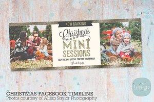 HC008 Christmas Facebook Timeline