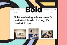 Other Bold by  in Web Themes