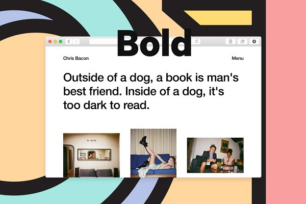 Tumblr Themes: Other Themes - Other Bold