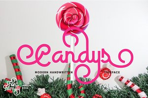 Candys Typeface 40% Off