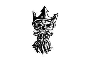 Skull of Neptune Sratchboard