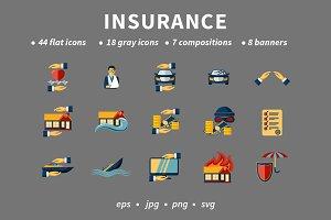 Insurance Flat Set