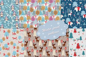 Winter/Christmas patterns collection