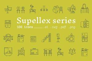 Supellex series / Furniture icons