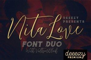 Nitalove Font Duo