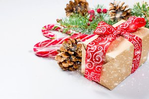 Christmas decorative gift box