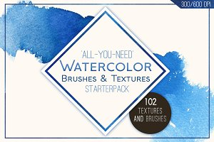 102 Watercolor Goodies! Quick!
