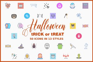 Halloween Icon Bundle