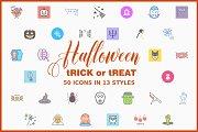 Halloween Icon Bundle