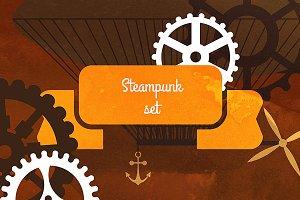 Steampunk vintage set