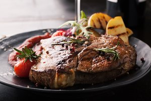 Grilled meat T-Bone