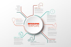 Multipurpose infographic template