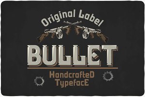 Bullet Typeface